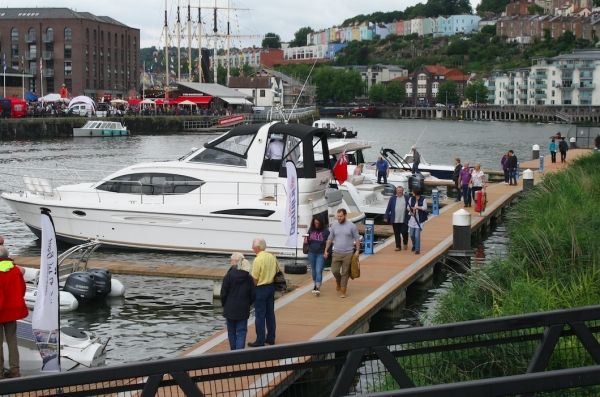 Don't miss this year's Western Boat Show at Bristol's Hannover Quay from Friday 20th-Sunday 22nd July 2018