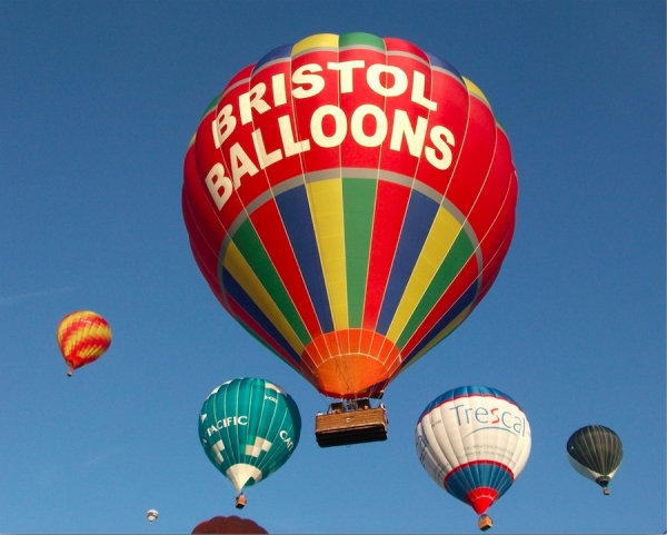 1 month until the Bristol Balloon Fiesta book your flight slot with Bristol Balloons before they sell out!