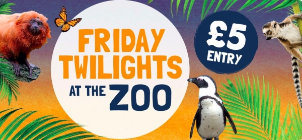 Friday Twilights at Bristol Zoo Gardens on Friday 6th July 2018