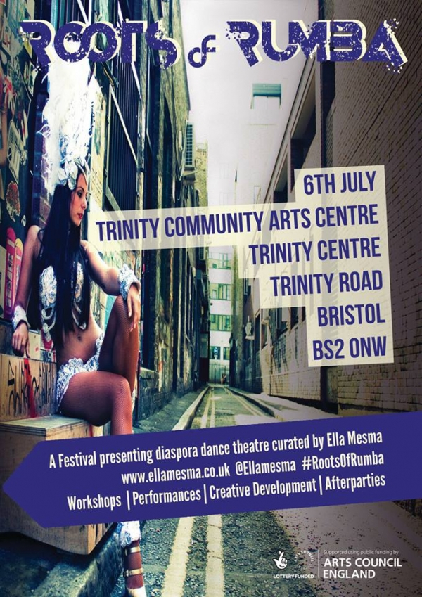 Roots of Rumba at Trinity Centre on Friday 6th July 2018