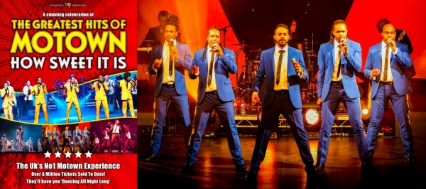 Motown's Greatest Hits at The Hippodrome in Bristol on Tuesday 21st August