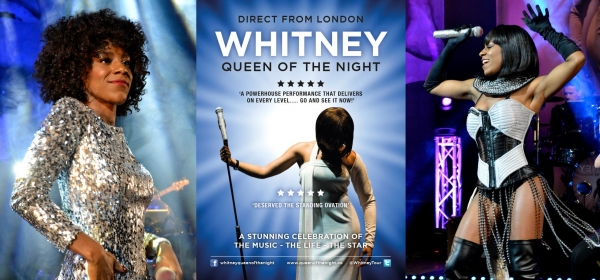 Whitney - Queen of the Night at The Bristol Hippodrome on October 14th 2018