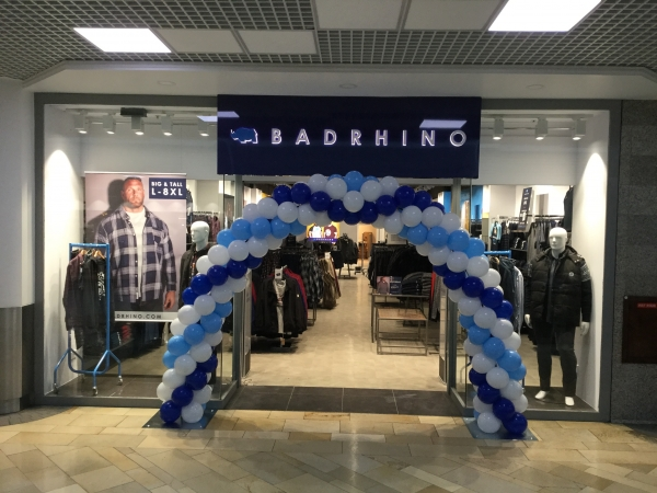 67cc391fb04 Menswear label BadRhino opens its fourth standalone store in The Galleries,  Bristol