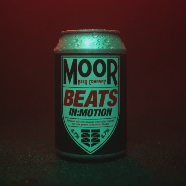 Motion unveil new pilsner in exciting collaboration with Moor Beer