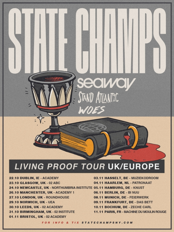 State Champs at O2 Academy Bristol