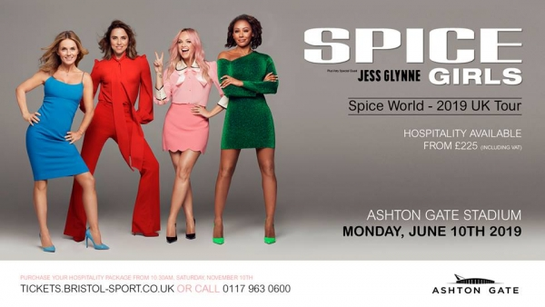 Spice Girls at the Ashton Gate Stadium in Bristol Jun 10th, 2019