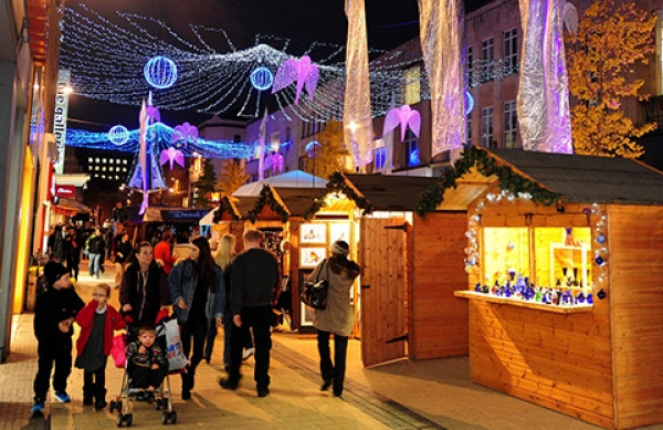 Bristol Local Christmas Market from Friday 30th November to Saturday 23rd December 2018