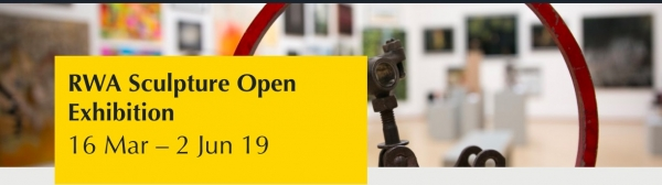 Sculpture Open Exhibition at the RWA from Saturday 16th March until Sunday 2nd June 2019