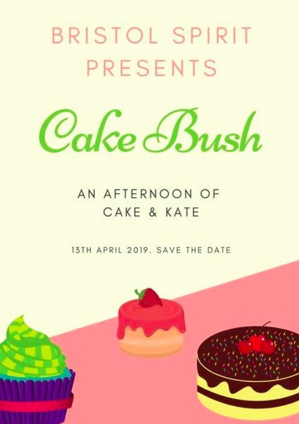 Cake Bush at Bristol Spirit on Saturday 13th April 2019