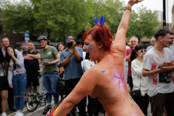 Get your kit off! Official date set for the 2019 Bristol Naked Bike Ride