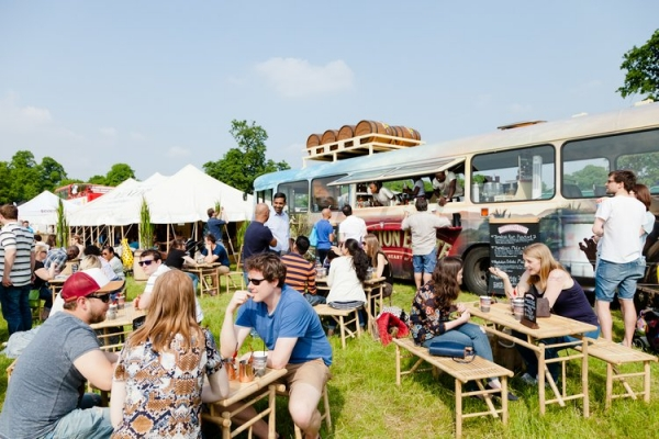 Foodies Festival from Friday 10th until Sunday 12th May 2019