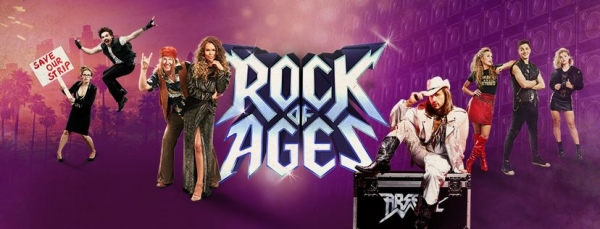 Tickets on sale now for Rock of Ages at the Bristol Hippodrome from 16th-20th April 2019