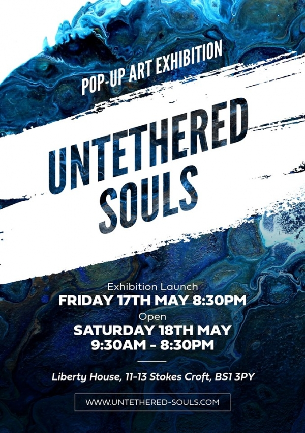 Untethered Souls at Liberty House on Friday 17th & Saturday 18th May 2019