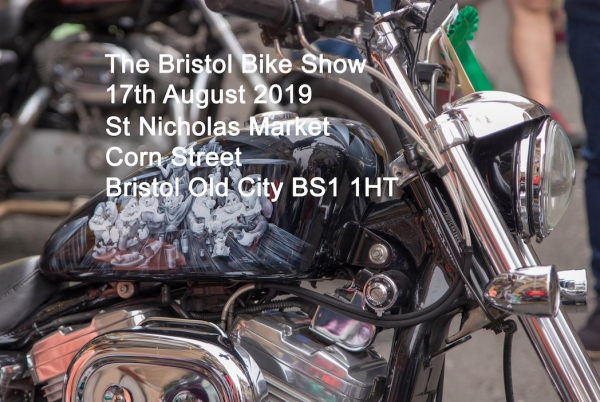 The Bristol Bike Show on Saturday 17th August 2019