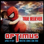 Optimus Bristol Comic Convention on 9-10 April 2016