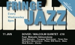Dover/Malcolm Quintet with Malcolm Edmonstone at The Bristol Fringe on Wednesday 11 January 2017