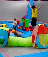 Mini AirHoppers sessions for under 5s at AirHop in Bristol