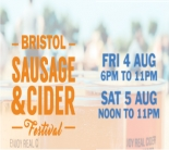 Bristol Sausage and Cider Festival arrives this weekend