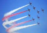 The Red Arrows to fly over Bristol this afternoon
