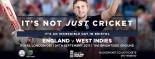 International Cricket in Bristol with England v West Indies at The Brightside Ground on Sunday 24 September 2017