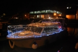 Illuminated Boat Parade in Bristol 9th December 2017
