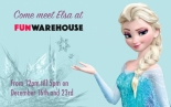 Meet Elsa at Fun Warehouse in the Galleries Bristol 23rd December