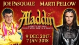 Win 4 family tickets to Aladdin at the Bristol Hippodrome on Wed 3rd January 2018