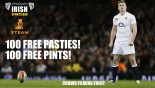 Free Pasty and a Pint watching the rugby at Steam Bristol on Saturday 6th January