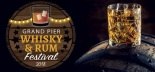 Grand Pier Whisky and Rum Festival on Saturday 27th January 2018