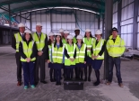 Badminton School in Bristol bury time capsule underneath their new Sports Centre