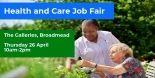 The Galleries in Bristol host a Health and Care Jobs Fair on Thursday 26th April
