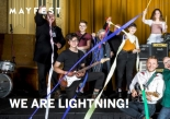 WE ARE LIGHTNING! at Trinity Centre from Wednesday 16th to Friday 18th May 2018