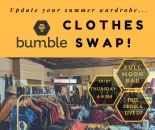 Bristol Bumble Clothes Swap at the Full Moon Bar on Thursday 19th July 2018