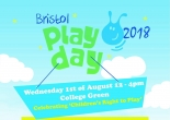 Bristol Playday 2018 at College Green on Wednesday 1st August 2018
