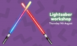 Free Lightsaber-making workshop at The Galleries on Thursday 9th August 2018