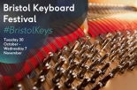 Bristol Keyboard Festival at St George's Bristol from Tuesday 30th October to Wednesday 7th November 2018