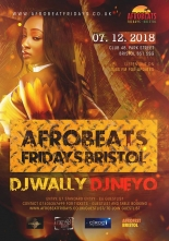 Afrobeats at Club 48 in Bristol this Friday 7th December