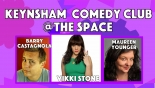 Keynsham Comedy Club: Smiley Spaces at Keynsham Civic Centre on Friday 11 January 2019