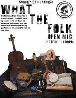 What The Folk at The Golden Guinea on Sunday 6th January 2019